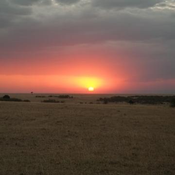 zonsondergang verkleind